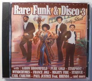 VARIOUS ARTISTS (AARON BROOMFIELD, PURE GOLD, STAR - Rare Funk & Disco 3 - CD