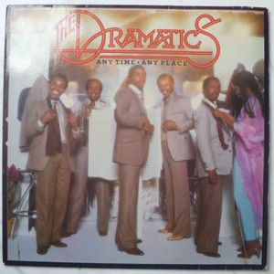 THE DRAMATICS - Any time Any place - LP