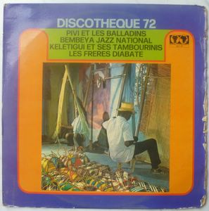 VARIOUS ARTISTS: SYLIPHONE DISCOTHEQUE 72 - Syliphone Discotheque 72 - LP