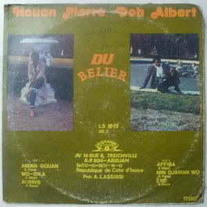 DOH ALBERT & HOUON PIERRE DU BELIER - Same - LP