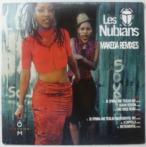 LES NUBIANS - Makeda remixes - 12 inch 33 rpm