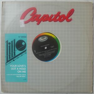 LILLO THOMAS - Your love got a hold on me / Trust me - 12 inch 33 rpm