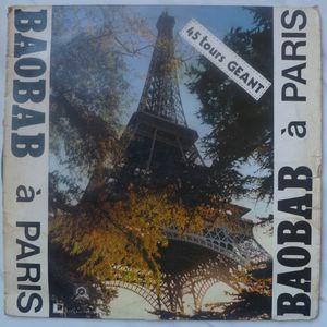BAOBAB - A Paris - 12 inch 33 rpm