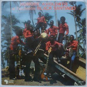 HONORE AVOLONTO ET L'ORCHESTRE BLACK SANTIAGO - Same - LP