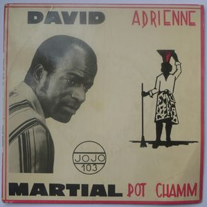 DAVID MARTIAL - Adrienne Pot chamm - 7inch (SP)
