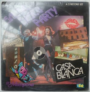 VARIOUS ARTISTS (TITO RODRIGUEZ, KAKO, ORQ. CIMARR - Salsa Disco Party Vol1 - LP x 2
