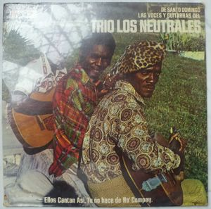 TRIO LOS NEUTRALES - De Santo Domingo - LP