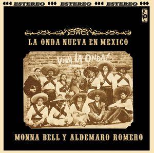 ALDEMARO ROMERO Y MONA BELL - La Onda nueva en Mexico - LP