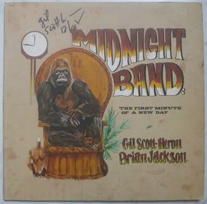 GIL SCOTT-HERON / BRIAN JACKSON - Midnight band: The first minute of a new day - LP