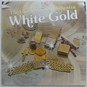 BARRY WHITE - White gold - LP