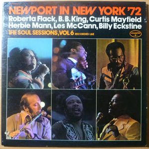 VA NEWPORT IN NEW YORK 72 - The Soul session Vol 6 recorded live - LP