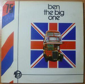 RONNIE HAZLEHURST - Ben the big one - LP