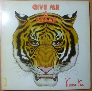 VIVIEN VEE - Give me a break - LP Gatefold