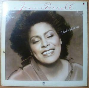 JEAN TERREL - I had to fall in love - LP
