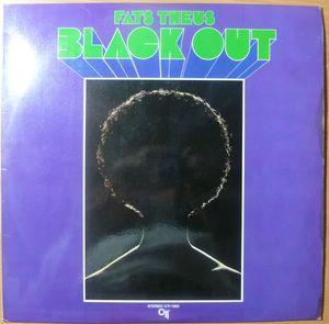 FATS THEUS - Black out - LP