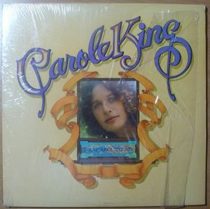 CAROLE KING - Wrap around joy - LP