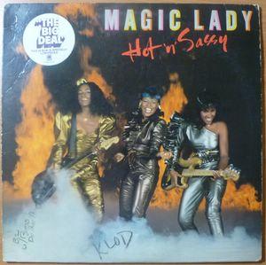 MAGIC LADY - Hot n Sassy - LP