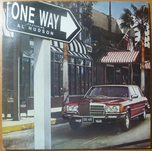 ONE WAY FEATURING AL HUDSON - Same - LP