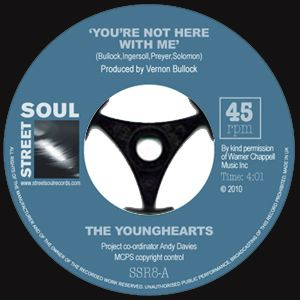 THE YOUNGHEARTS - You're Not Here With Me / We're All God's Children - 7inch (SP)