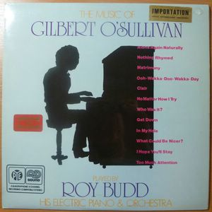 ROY BUDD - The music of Gilbert O'Sullivan - LP