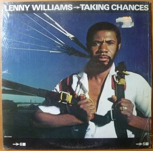 LENNY WILLIAMS - Taking chances - LP