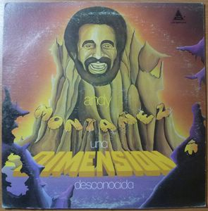 ANDY MONTANEZ - Una dimension desconocida - LP