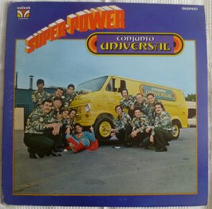 CONJUNTO UNIVERSAL - Super power - LP