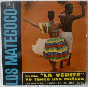 LOS MATECOCO - Yo tenga una Muneca 4 tracks) - 7inch (EP)