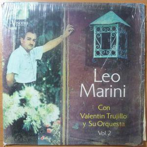 LEO MARINI CON VALENTIN TRUJILO Y SU ORCHESTA - Vol 2 - LP