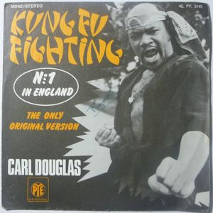 CARL DOUGLAS - Kung fu fighting / Gamblin' man - 7inch (SP)