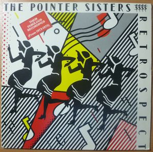 THE POINTER SISTERS - Retrospect - LP