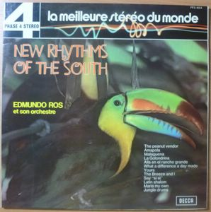 EDMUND ROS ET SON ORCHESTRE - New Rhythms of the south - LP Gatefold