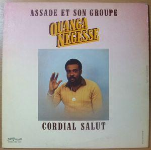 ASSADE ET SON GROUPE - Ouanga negresse - LP