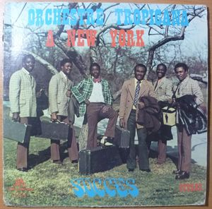 ORCHESTRE TROPICANA D'HAITI - A New York - LP