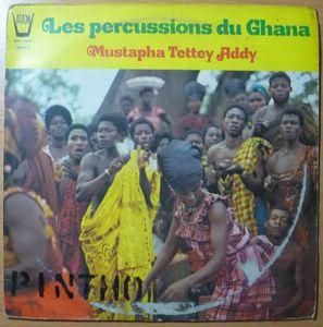 MUSTAPHA TETTEY ADDY - Les percussions du Ghana - LP