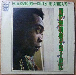 Fela Ransome Kuti & Africa 70* Fela & Africa 70 - Everything Scatter