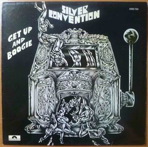 SILVER CONVENTION - Get up and boogie - LP