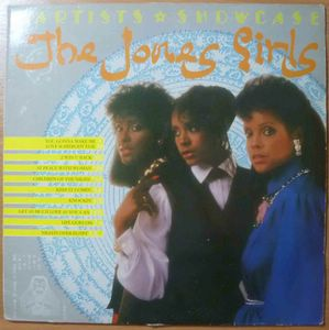THE JONES GIRLS - Artists showcase - LP