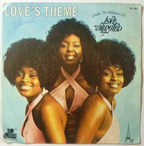 LOVE UNLIMITED - Love's theme / Under the influence of love - 7inch (SP)