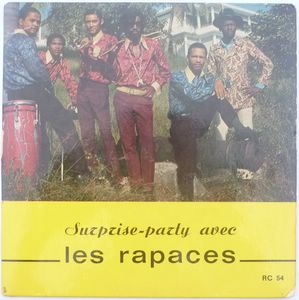LES RAPACES - Pipilite Sambo / Try a little tenderness - 7inch (SP)