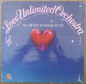 LOVE UNLIMITED ORCHESTRA - My sweet summer suite - LP
