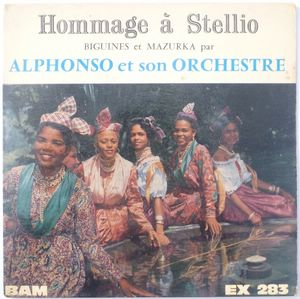 ALPHONSO ET SON ORCHESTRE - Hommage a Stellio (4 tracks) - 7inch (EP)