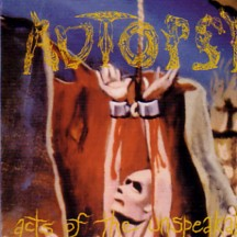 AUTOPSY - Acts Of The Unspeakable - CD + bonus