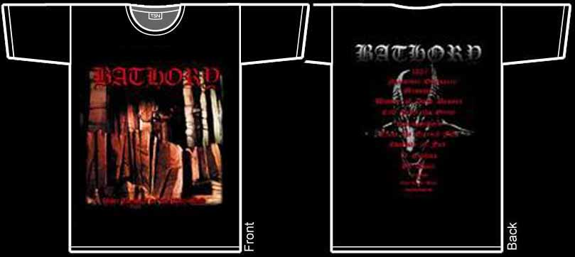 BATHORY - Under The Sign Of The Black Mark. M Size - T-shirt