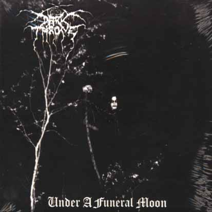 DARKTHRONE - Under A Funeral Moon - CD + bonus