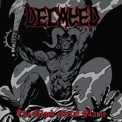 DECAYED - The Black Metal Flame - CD