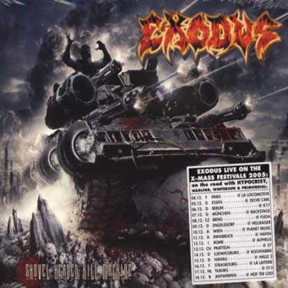 EXODUS - Shovel Headed Kill Machine - CD