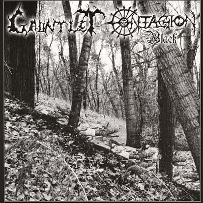 GAUNTLET - / CONTAGION BLACK - CD