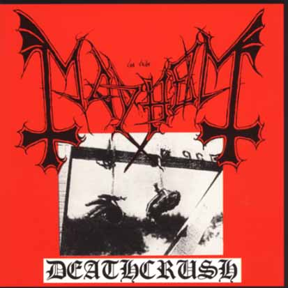MAYHEM - Deathcrush - CD Maxi
