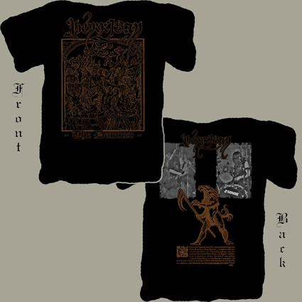 MORRIGAN - The Damned. Xl Size. - T-shirt